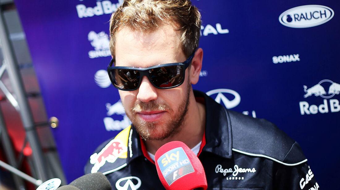 Sebastian Vettel - Red Bull - Formel 1 - GP Brasilien - 21. November 2013