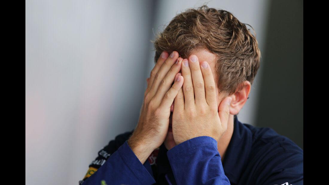 Sebastian Vettel - Red Bull - Formel 1 - GP Brasilien - 6. November 2014