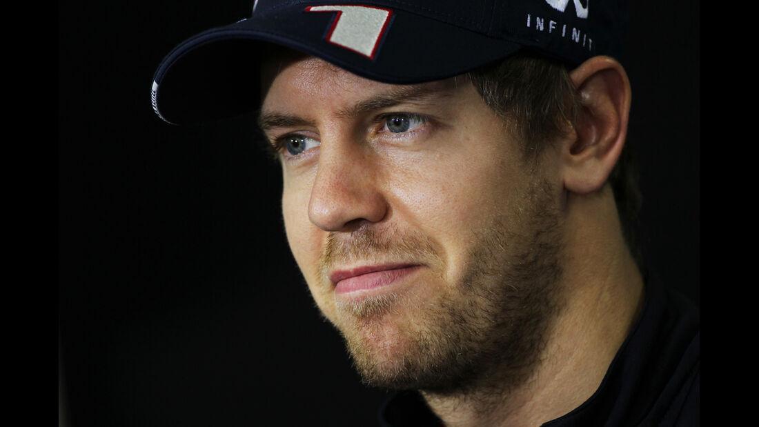 Sebastian Vettel - Red Bull - Formel 1 - GP Brasilien - Sao Paulo - 22. November 2012