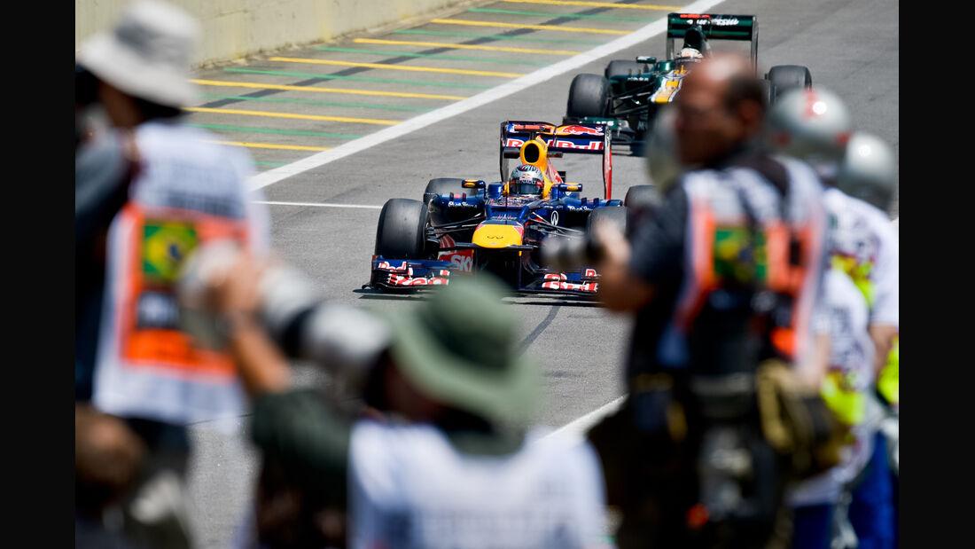 Sebastian Vettel - Red Bull - Formel 1 - GP Brasilien - Sao Paulo - 23. November 2012
