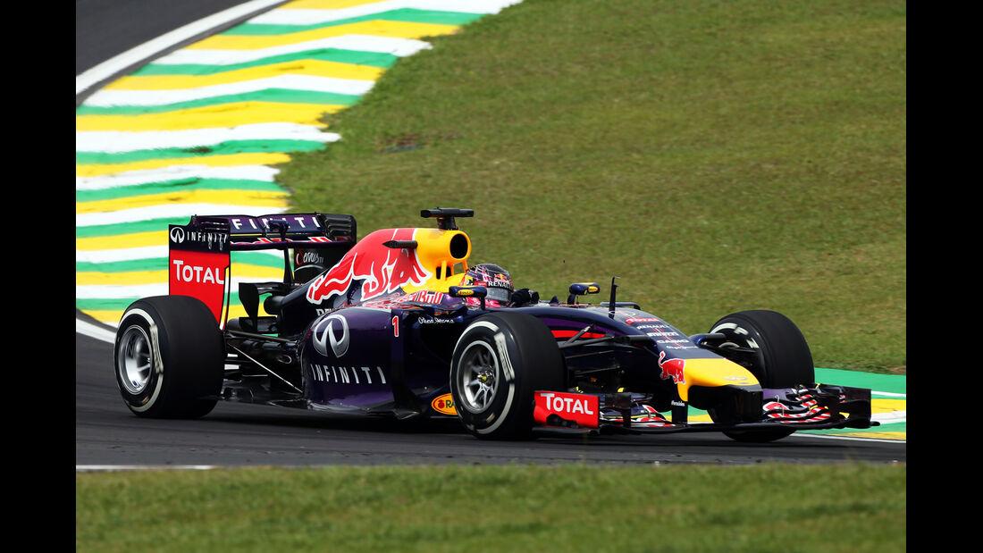 Sebastian Vettel - Red Bull - Formel 1 - GP Brasilien - Sao Paulo - 7. November 2014