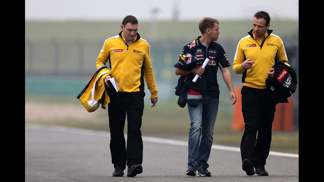 Sebastian Vettel - Red Bull - Formel 1 - GP China - Shanghai - 17. April 2014