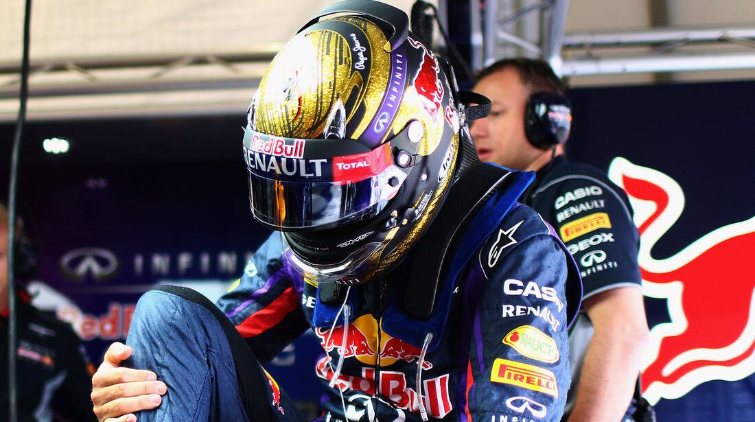 Sebastian Vettel - Red Bull - Formel 1 - GP Deuschland - 5. Juli 2013