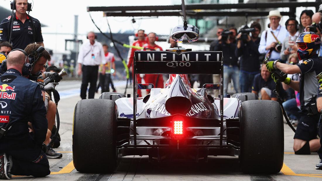 Sebastian Vettel - Red Bull - Formel 1 - GP Deutschland - 5. Juli 2013