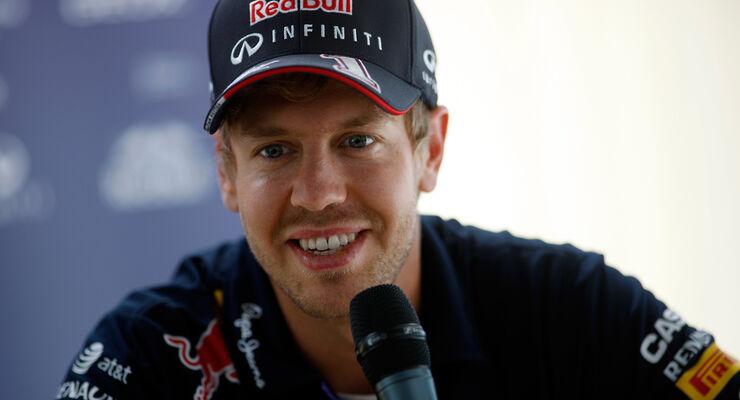 Sebastian Vettel - Red Bull - Formel 1 - GP England - Silverstone - 3. Juli 2014