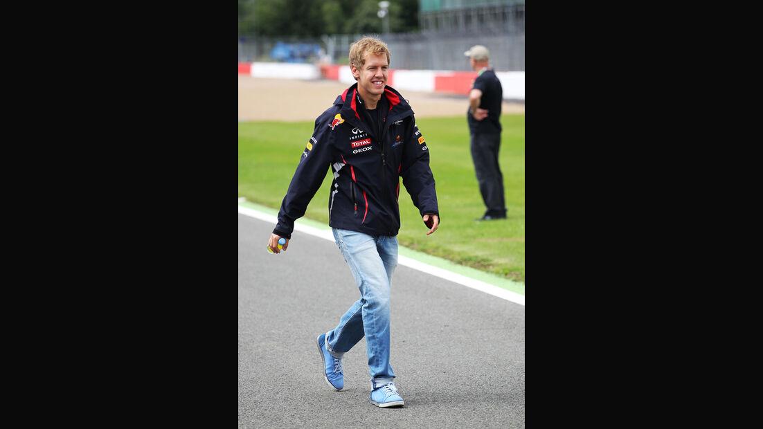 Sebastian Vettel - Red Bull - Formel 1 - GP England - Silverstone - 5. Juli 2012