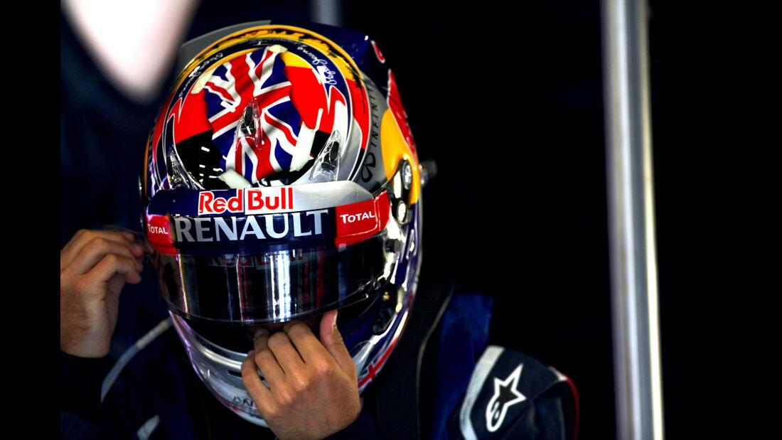 Sebastian Vettel - Red Bull - Formel 1 - GP England - Silverstone - 7. Juli 2012