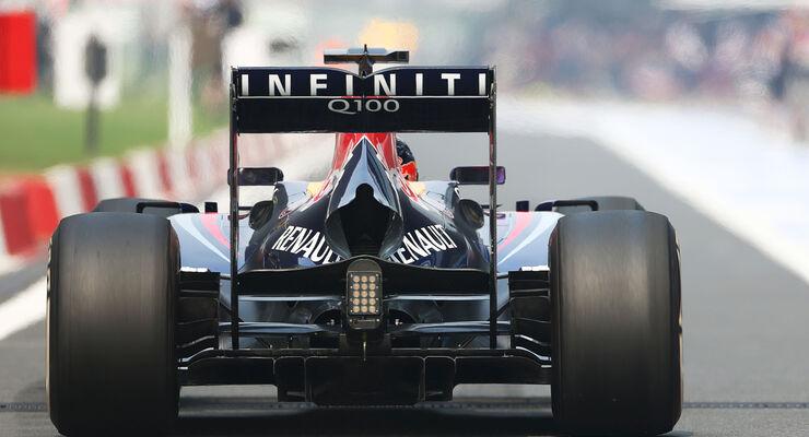 Sebastian Vettel - Red Bull - Formel 1 - GP Indien - 25. Oktober 2013