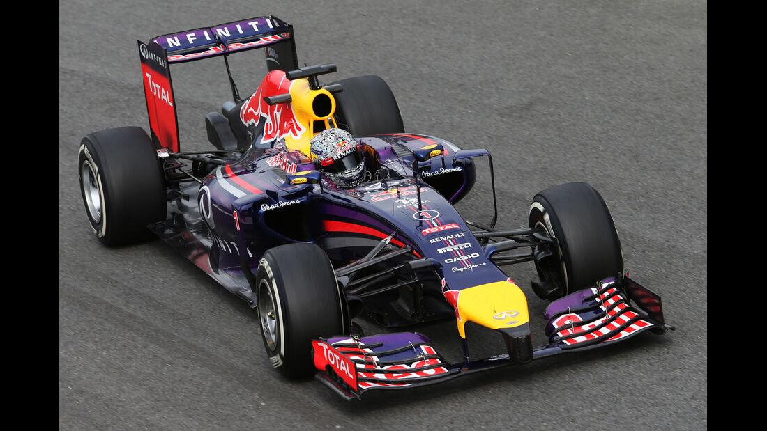 Sebastian Vettel - Red Bull - Formel 1 - GP Italien - 5. September 2014