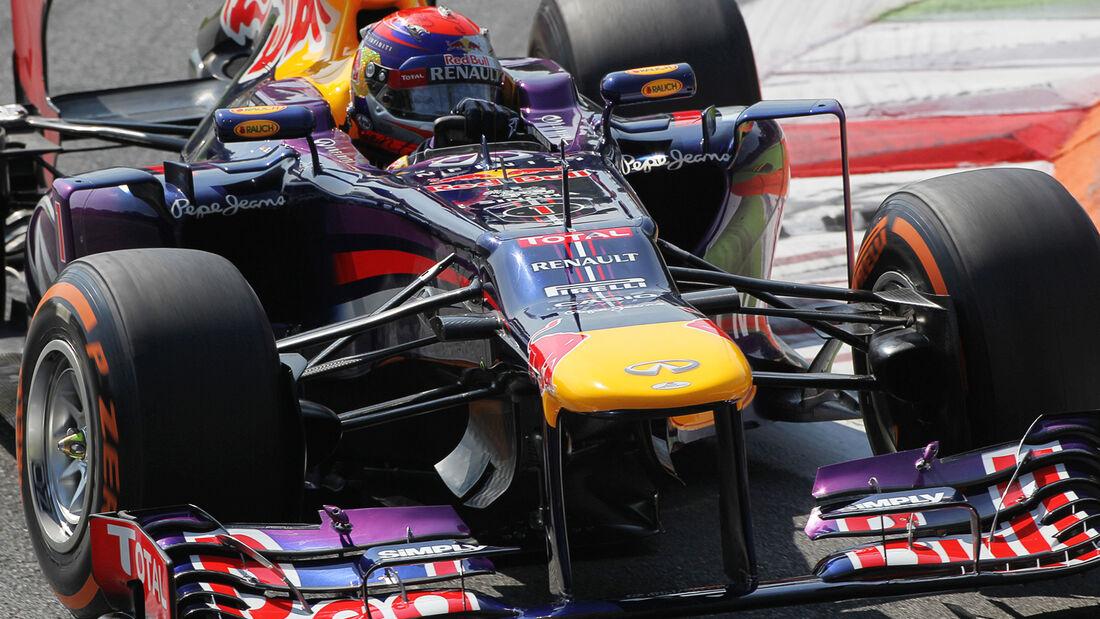 Sebastian Vettel - Red Bull - Formel 1 - GP Italien - 6. September 2013