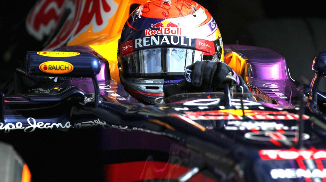 Sebastian Vettel - Red Bull - Formel 1 - GP Italien - 7. September 2013