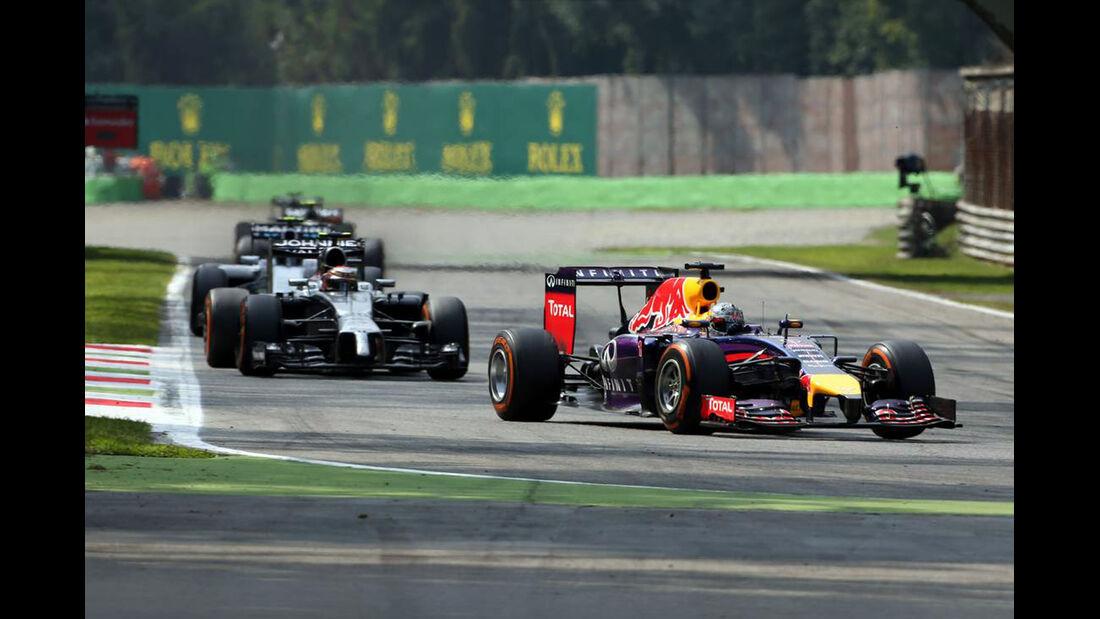 Sebastian Vettel - Red Bull  - Formel 1 - GP Italien - 7. September 2014