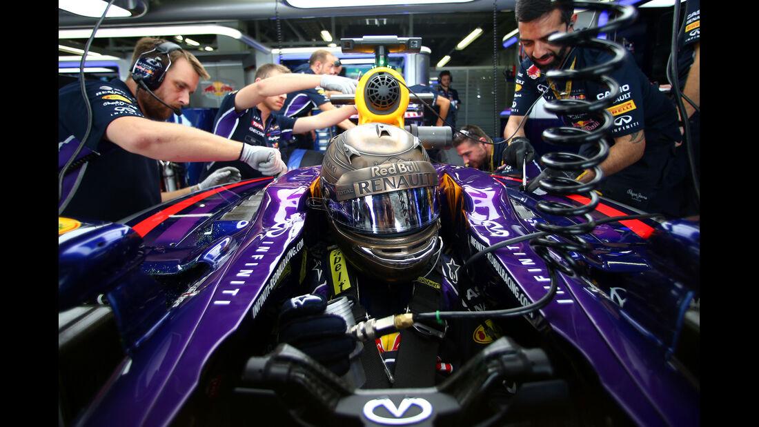 Sebastian Vettel - Red Bull - Formel 1 - GP Japan - 3. Oktober 2014