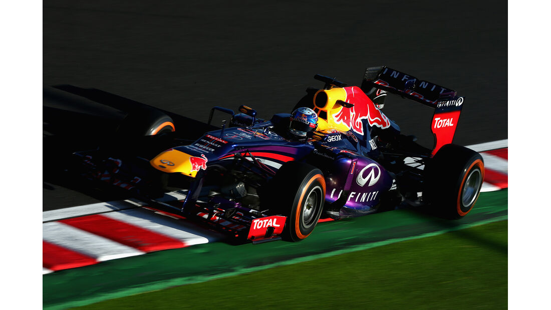 Sebastian Vettel - Red Bull - Formel 1 - GP Japan - Suzuka - 11. Oktober 2013