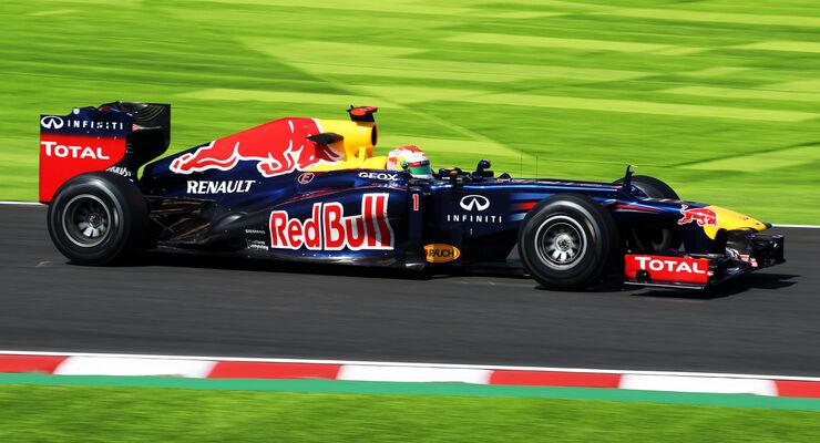 Sebastian Vettel - Red Bull - Formel 1 - GP Japan - Suzuka - 5. Oktober 2012