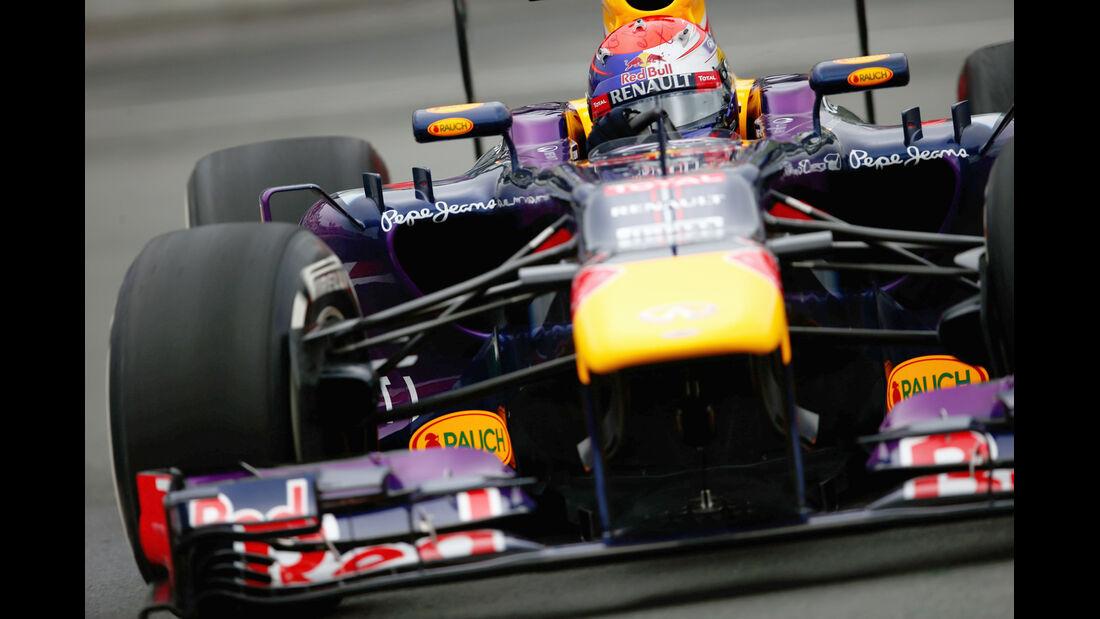 Sebastian Vettel - Red Bull - Formel 1 - GP Kanada - 7. Juni 2013