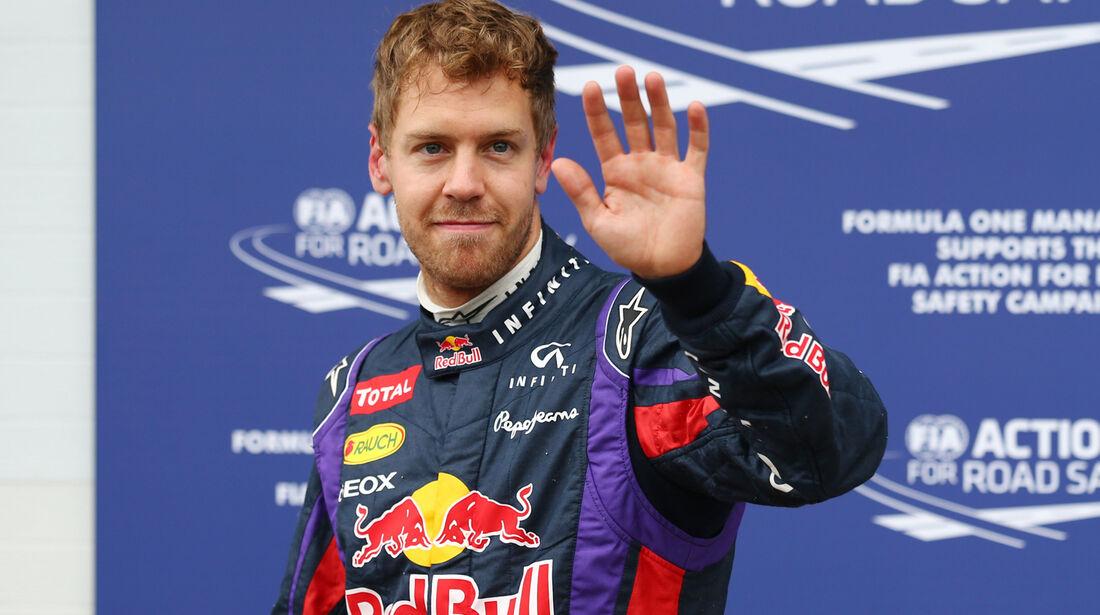 Sebastian Vettel - Red Bull - Formel 1 - GP Kanada - 8. Juni 2013