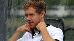 Sebastian Vettel - Red Bull - Formel 1 - GP Kanada - Montreal - 5. Juni 2014