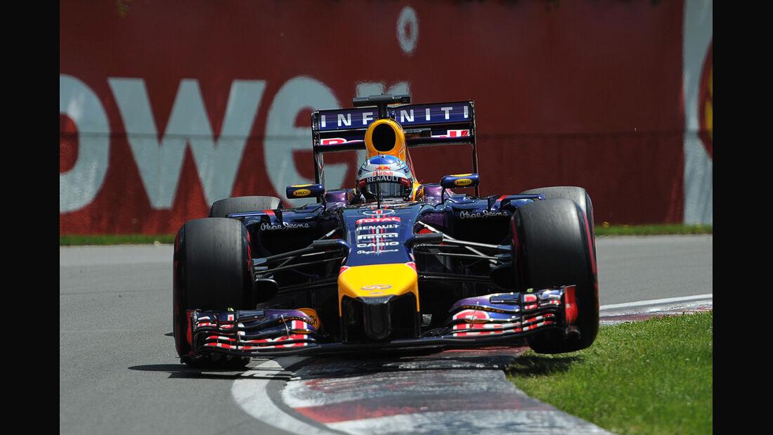 Sebastian Vettel - Red Bull - Formel 1 - GP Kanada - Montreal - 7. Juni 2014