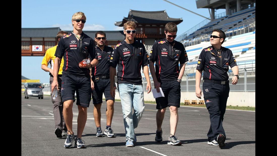 Sebastian Vettel - Red Bull - Formel 1 - GP Korea - 11. Oktober 2012