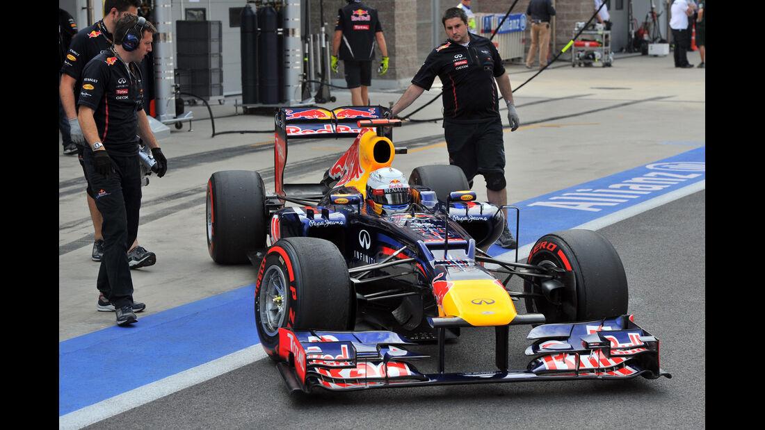 Sebastian Vettel - Red Bull - Formel 1 - GP Korea - 13. Oktober 2012