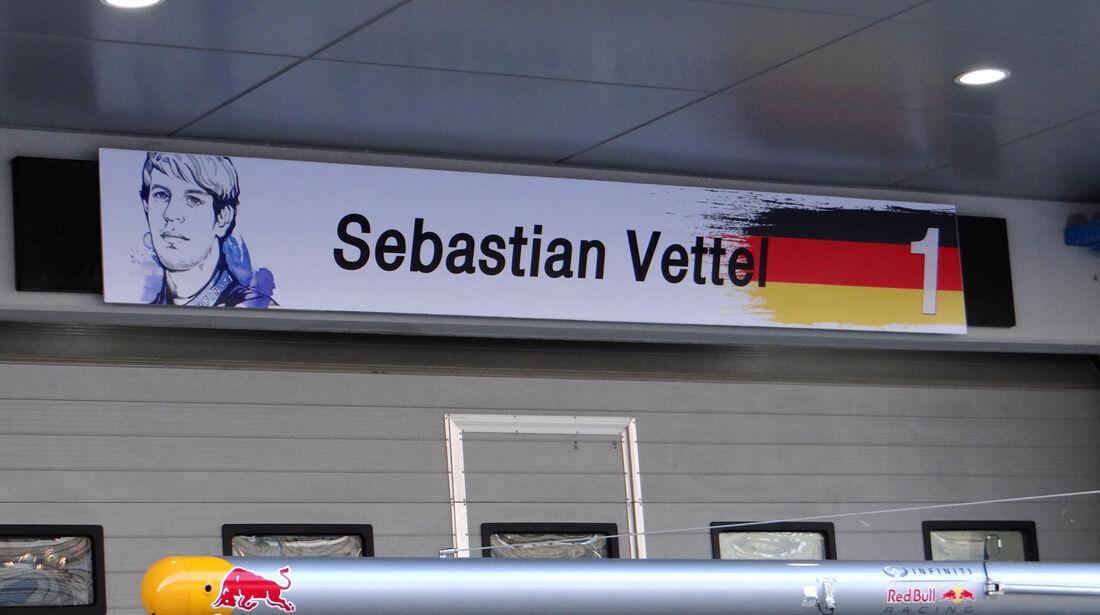 Sebastian Vettel - Red Bull - Formel 1 - GP Korea - 2. Oktober 2013