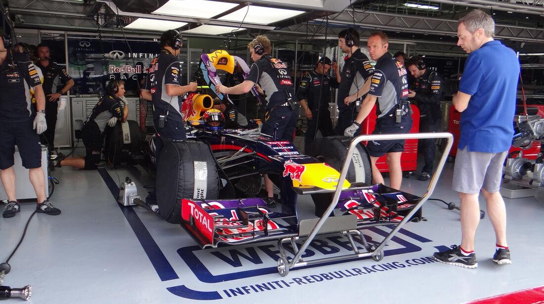Sebastian Vettel - Red Bull - Formel 1 - GP Malaysia - 22. März 2013
