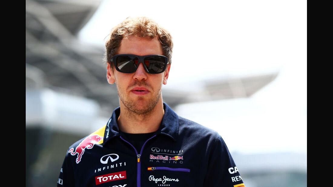 Sebastian Vettel - Red Bull - Formel 1 - GP Malaysia - Sepang - 27. März 2014