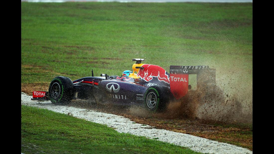 Sebastian Vettel - Red Bull - Formel 1 - GP Malaysia - Sepang - 29. März 2014