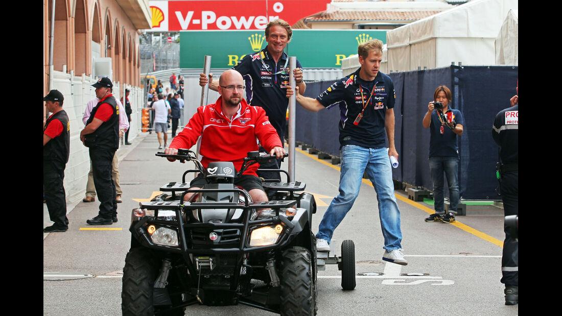 Sebastian Vettel - Red Bull - Formel 1 - GP Monaco - 21. Mai 2014