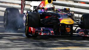 Sebastian Vettel - Red Bull - Formel 1 - GP Monaco - 23. Mai 2013