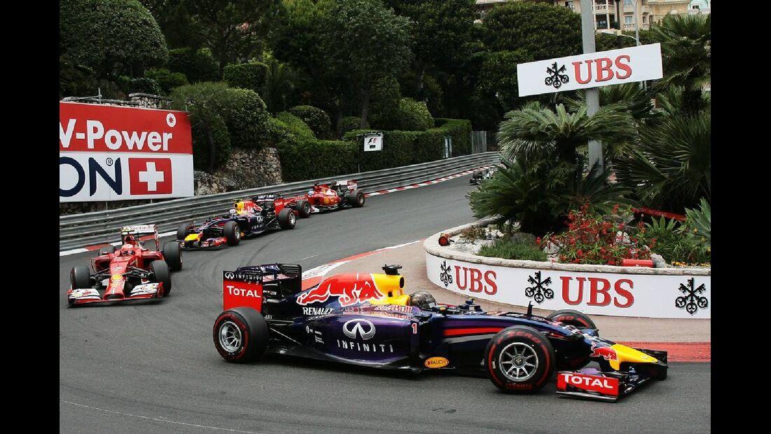 Sebastian Vettel - Red Bull  - Formel 1 - GP Monaco - 25. Mai 2014