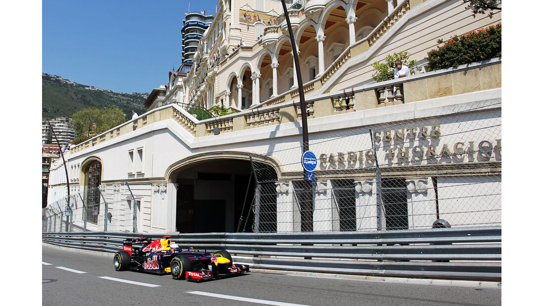 Sebastian Vettel - Red Bull - Formel 1 - GP Monaco - 26. Mai 2012