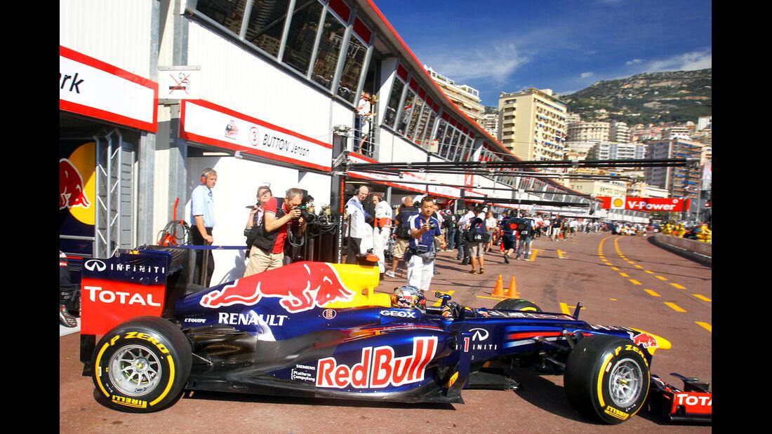 Sebastian Vettel - Red Bull - Formel 1 - GP Monado - 24.Mai