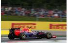 Sebastian Vettel - Red Bull - Formel 1 - GP Österreich - Spielberg - 21. Juni 2014