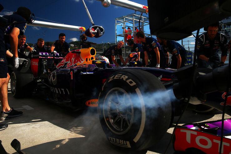 Sebastian Vettel - Red Bull - Formel 1 - GP Russland - 10. Oktober 2014