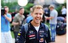 Sebastian Vettel - Red Bull - Formel 1 - GP Singapur - 18. September 2014