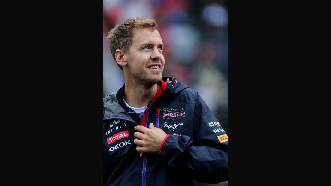 Sebastian Vettel - Red Bull - Formel 1 - GP Singapur - 2. Oktober 2014