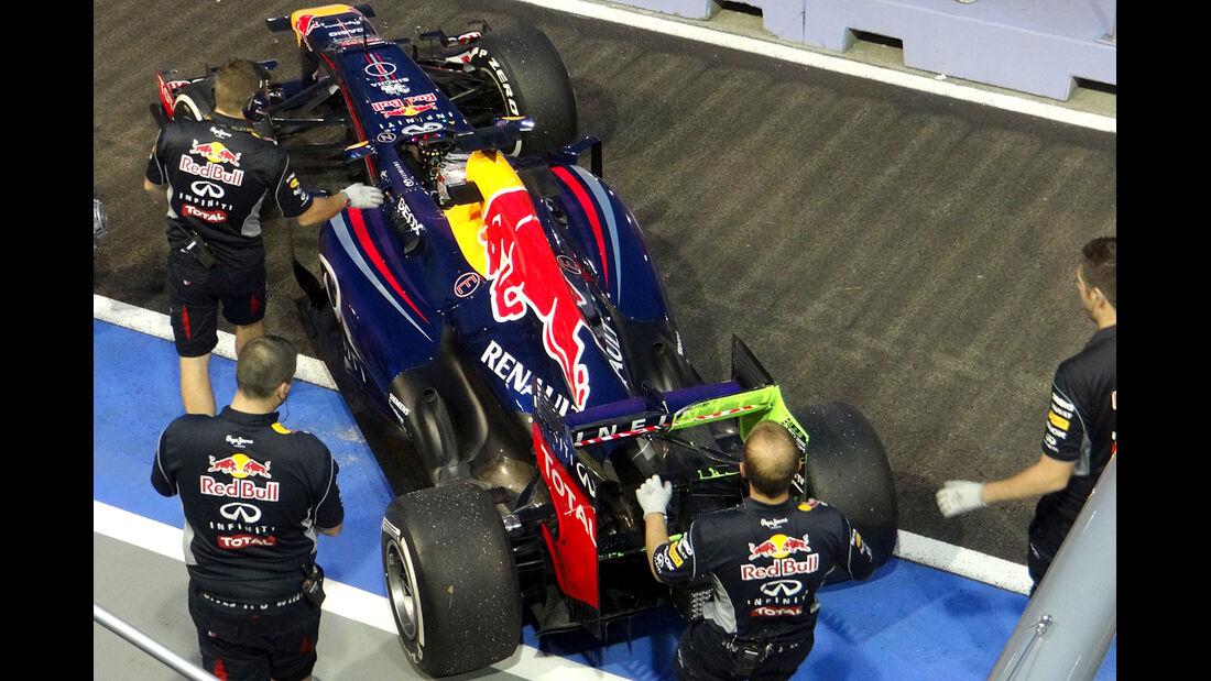 Sebastian Vettel - Red Bull - Formel 1 - GP Singapur - 20. September 2013