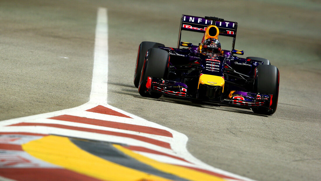 Sebastian Vettel - Red Bull - Formel 1 - GP Singapur - 20. September 2014