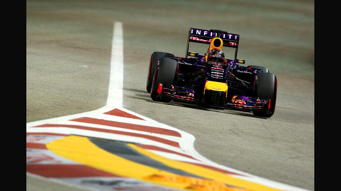 Sebastian Vettel - Red Bull - Formel 1 - GP Singapur - 20. September 2014
