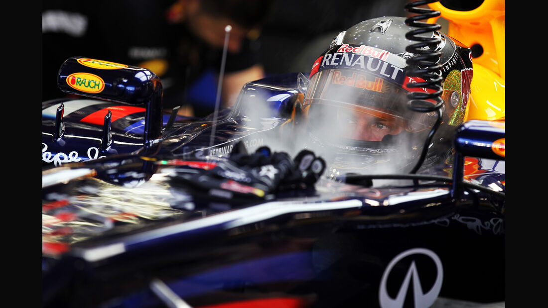 Sebastian Vettel - Red Bull - Formel 1 - GP Singapur - 21. September 2012
