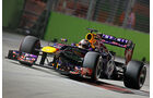 Sebastian Vettel - Red Bull - Formel 1 - GP Singapur - 21. September 2013
