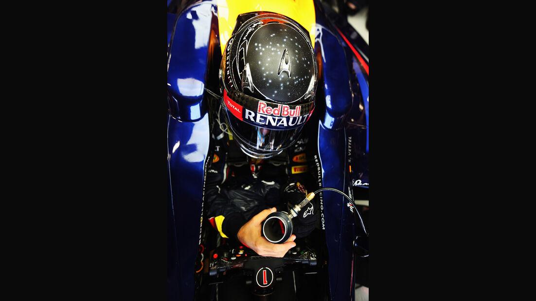 Sebastian Vettel - Red Bull - Formel 1 - GP Singapur - 22. September 2012