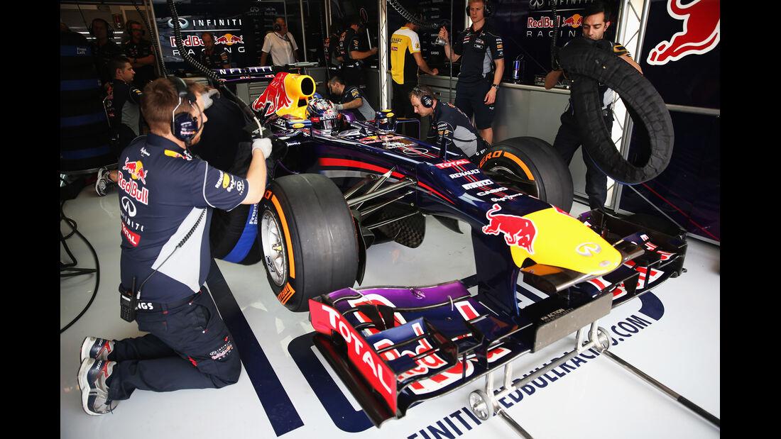 Sebastian Vettel - Red Bull - Formel 1 - GP USA - 16. November 2013