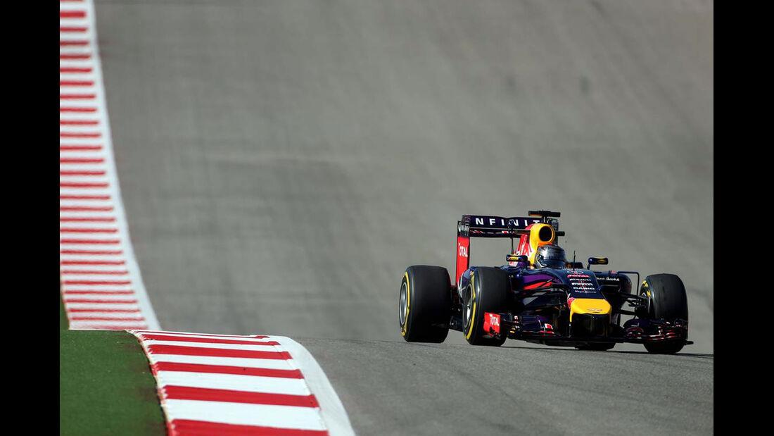 Sebastian Vettel - Red Bull  - Formel 1 - GP USA - 31. Oktober 2014