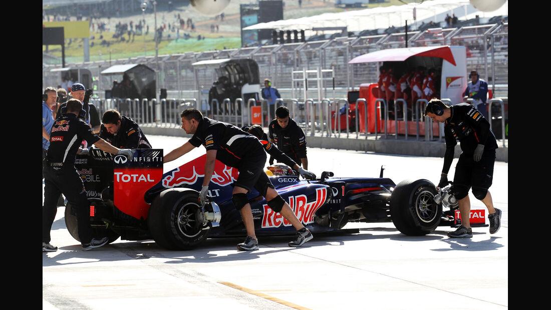 Sebastian Vettel - Red Bull - Formel 1 - GP USA - Austin - 16. November 2012