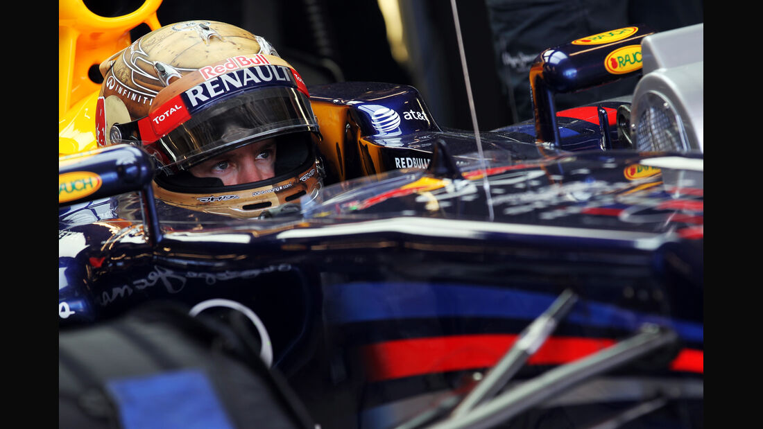 Sebastian Vettel - Red Bull - Formel 1 - GP USA - Austin - 17. November 2012