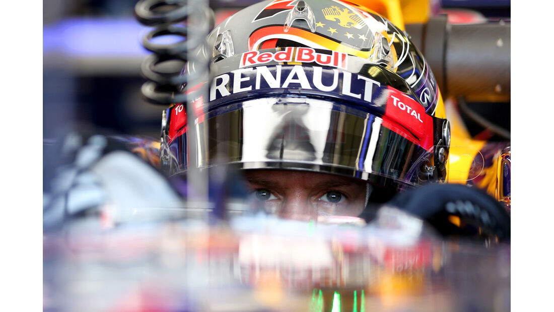Sebastian Vettel - Red Bull - Formel 1 - GP Ungarn - 25. Juli 2014