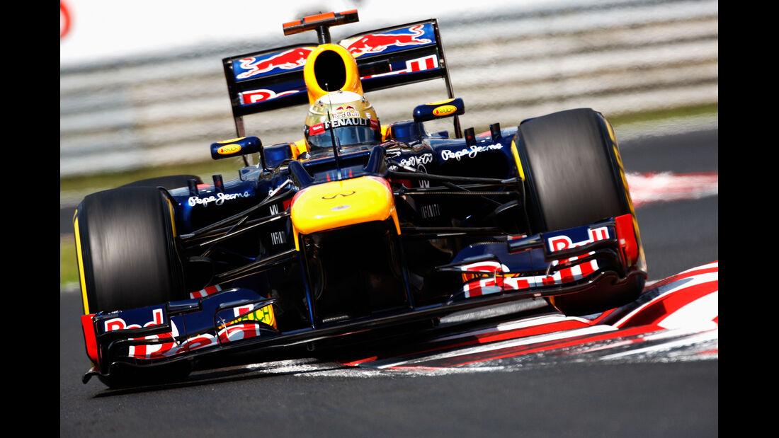 Sebastian Vettel - Red Bull - Formel 1 - GP Ungarn - Budapest - 28. Juli 2012